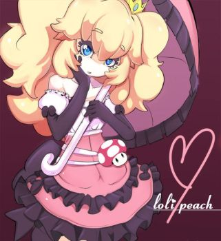 loli peach by sho-N-D