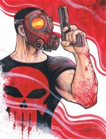 marker: The Punisher by KidNotorious
