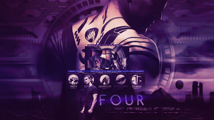 Four Wallpaper by Glamourgirlizeme
