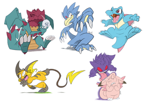 Pokemon Art Dump 3
