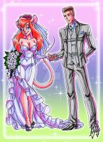 My wedding with Gadget Hackwrench 2 by kyo-domesticfucker