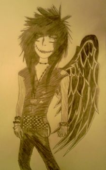 Andy Sixx - Fallen Angel by ILoveAnime4-Ever