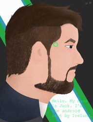 The Android Sent By Ireland by Rynneer