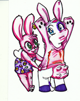 Easter Time is Bunny Time by ChanterelleandMay
