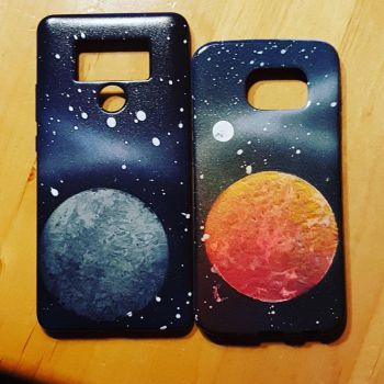 Smartphone case Design by SutoroberiArt