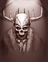 The Horned King by Caelkriss