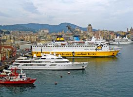 Sardinia Ferries by Sergiba