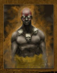 Dhalsim Painted by SharpWriter