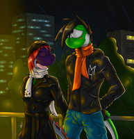 BDay Gift - Rainy Night by McTaylis