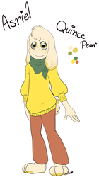 :Fruittale: Asriel by Sofua