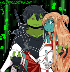 Sao - Leo and Mikey by KameBoxer