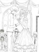 Tsubasa: the wedding by melmoon