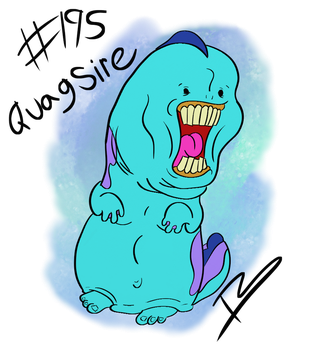 Quagsire by Tricycloplots
