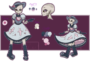 Rowlina Rose - Ref by 1CantArt