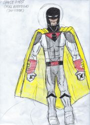 Space Ghost Full DC United Redesign by jaredyboy