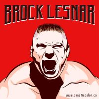 Brock Lesnar by chaotic-color