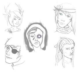 Face Sketch Practice by better-pathos