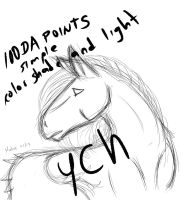 Cheap YCH Horse OPEN by MalekArt