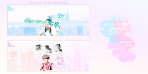 PSD ::: HANSOON ::: BLUE PINK by jumiparkx1110