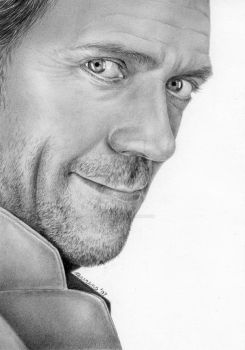 Hugh Laurie by Cataclysm-X
