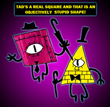 Zal001 64 4 Tad Strange And Bill Cipher By