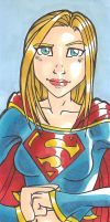 Supergirl by IndyScribbable