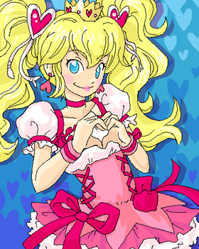 Cure Princess Peach by Pimmy