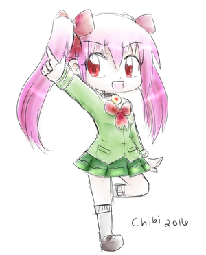 Chibi Girl Points by Dream-Paint