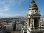 View from St. Stephen's Basilica bell-tower I by setanta5