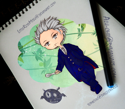 12th Doctor Who - chibi by LittleRosyMitsu