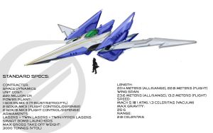 Arwing II Concept Sketch by JECBrush