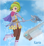 Karis and Doldrum by LohiAxel