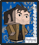 The 10th Doctor Cubeecraft by angelyques