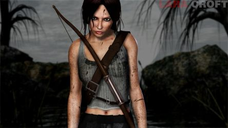 Lara Croft 2 by 3DXcentric