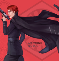General Hux by StupidAvi