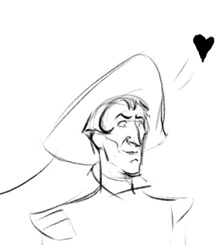 Judge Claude Frollo by Lucius007