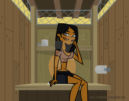 Nichelle TDTBFTM's S2 - First Confessional. by TheGodOfBlue