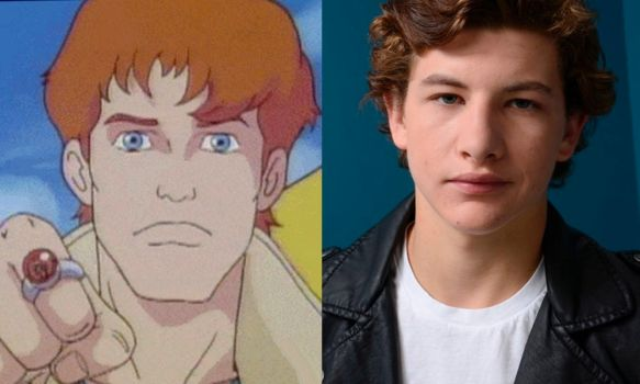 Tye Sheridan as Wheeler (Captain Planet) by attaturk5