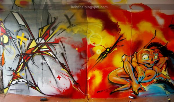 Slice VS Itch 2010 by itch1
