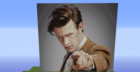 Doctor Who 11th Doctor Matt Smith (Minecraft) by zAz-Player