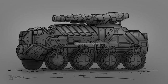 Vehicle Concept2 by novaillusion