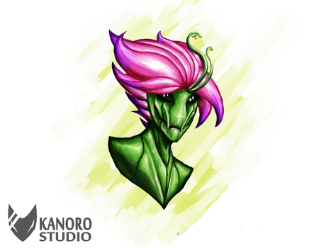 Starbound - Floran by Kanoro-Studio