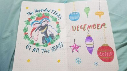 BulletJournal Dec Hopes and Fears by Thagirion