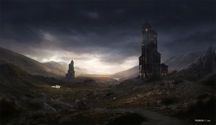 Watchtowers by ThorionArt