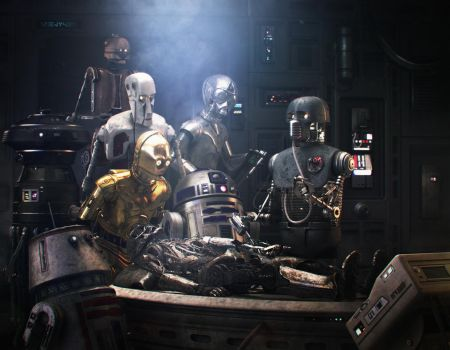 Star Wars meets Rembrandt by menyhei