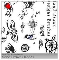 Hand Drawn Designs Brushes by Scully7491