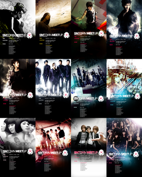 SM Town Posters by udooboo