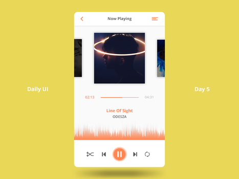 Daily UI Challenge - Day 5 by FanBarcelony