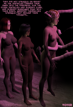 Caught by Tentacles 3D by hypnovoyer