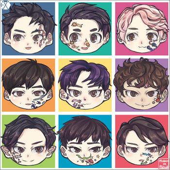 EXO - SEASON GREATINGS 2016 by MaewenMitzuki